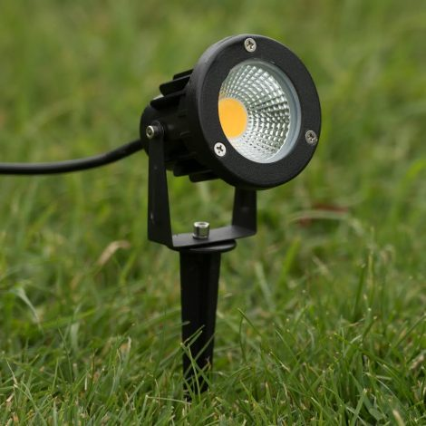 5w LED light with spike waterproof ledmasters