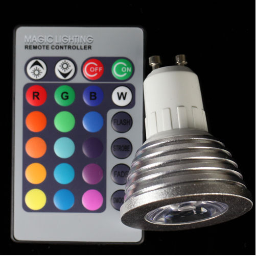 RGB Bulb with Remote Control