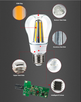 apple LEd bulb 8w