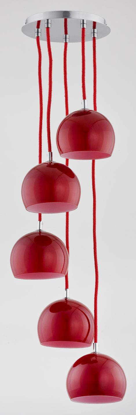Red Glass Pendant